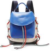 Marni Leather-paneled Canvas Backpack