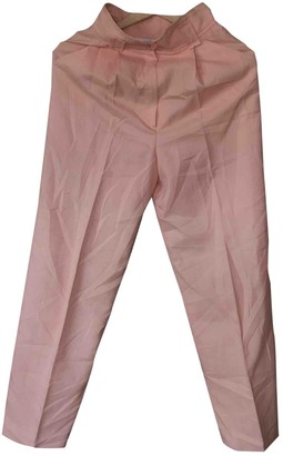Courreges Pink Trousers for Women