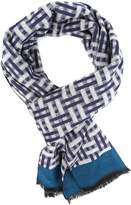 Sakkas 16136 - Jiel Long Wide Classic Multi Colored Pattern UniSex Cashmere Feel Scarf - OS
