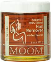 Moom Organic Hair Remover Refill 6 Ounce Jar (Pack of 2)