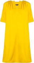 Derek Lam puff sleeve shift dress - women - Cotton/Elastodiene - 36