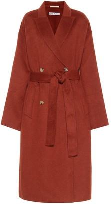 Acne Studios Wool and alpaca coat