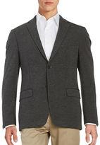Calvin Klein Textured Two-Button Jacket