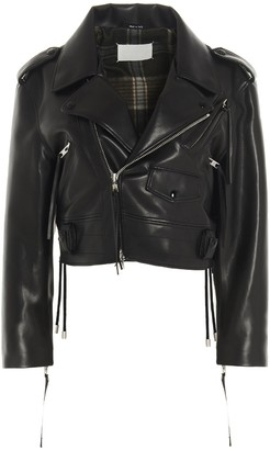 Maison Margiela Faux Leather Biker Jacket