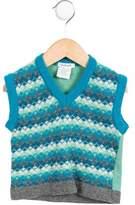 Cacharel Boys' Wool Argyle Vest