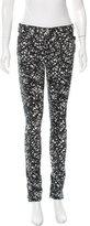 Balenciaga Printed Skinny Pants