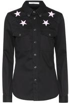 Givenchy Chemise en coton façon denim