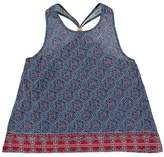 Forever 21 Girls Tribal Print Beaded Tank (Kids)