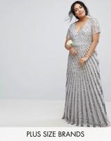 Lovedrobe Luxe Allover Tonal Sequin Maxi Dress