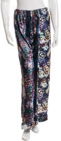 Clover Canyon Printed Velvet Pants w/ Tags