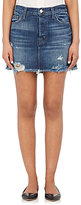 J Brand Women's Bonny Distressed Miniskirt