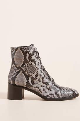 Freda Salvador Emi Snake Ankle Boots