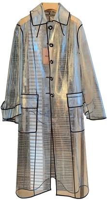 Miu Miu White Trench Coat for Women