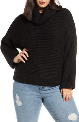 Leith Cozy Neck Dolman Sweater