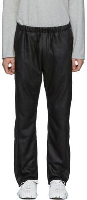 Needles Black Synthetic Mouton Lounge Pants