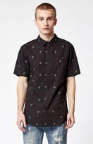 PacSun Rosey Short Sleeve Button Up Shirt