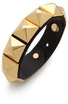 Linea Pelle Grayson Wide Pyramid Bracelet