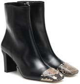 Aeydé Belle leather ankle boots
