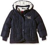 S'Oliver Girl's Hooded Long Sleeve Jacket - Blue -