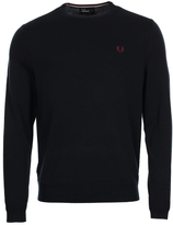 Fred Perry Classic Crewneck Jumper K7211-395 Dark Carbon