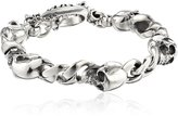 "King Baby Studio Skull"" Men's Integrated Skull Bracelet"