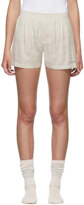 Jacquemus SSENSE Exclusive Off-White Le Calecon Shorts