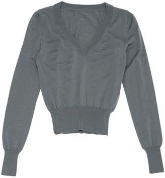 Alaia Grey Wool Knitwear