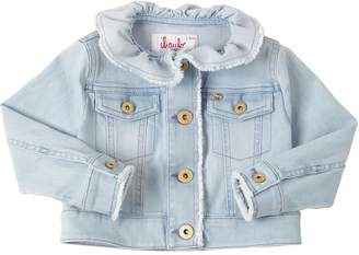 Il Gufo Stretch Cotton Denim Jacket
