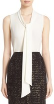Lafayette 148 New York Women's 'Dana' Tie Neck Silk Blouse