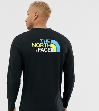 The North Face Easy long sleeve t-shirt in black Exclusive at ASOS