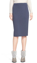 Fabiana Filippi Cashmere Knit Tube Skirt