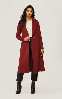 Soia & Kyo ELEONORE calf-length double-face wool coat