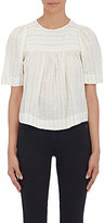 Etoile Isabel Marant Women's Sara Cotton-Blend Swing Top-WHITE