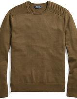 Ralph Lauren Merino Wool Moto Sweater