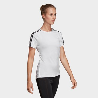 adidas Women's Essentials Designed 2 Move 3-Stripes T-Shirt