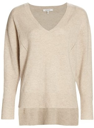 Frame Deep V-neck Sweater