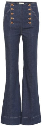 Ulla Johnson Ashton high-rise jeans