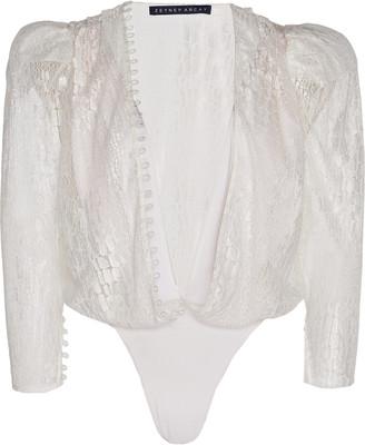 ZEYNEP ARCAY Lace Body Suit