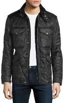 Burberry Garrington Quilted Zip-Up Jacket, Black