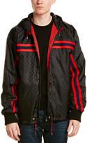 Gucci Monogram Nylon Hooded Jacket