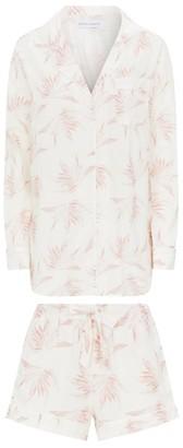 Desmond & Dempsey Deia Print Pyjama Shorts Set