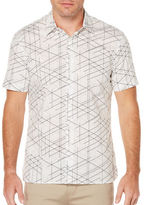 Perry Ellis Graphed Linear Shirt