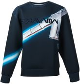 Juun.J x Hajime Sorayama print sweatshirt - men - Polyester/Polyurethane - 46