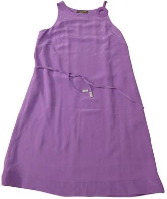 Loro Piana Purple Silk Dresses