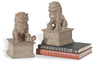 Port 68 Set of 2 Han Dynasty Bookends - Sand