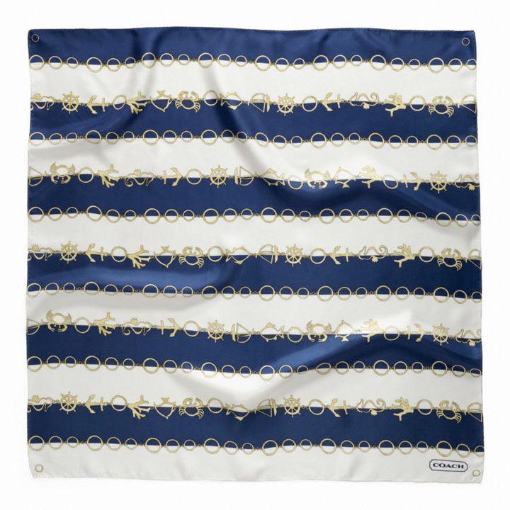 Coach Nautical Jewelry Stripe 27x27