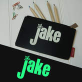 STUDY Simply Colors Personalised Glow In The Dark Pencil Case