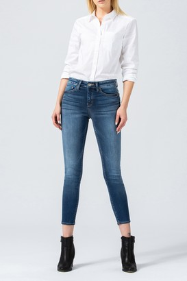 Flying Monkey Laguna Mid Rise Cropped Skinny Jeans