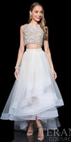 Terani Couture Rochelle Rhinestone Two Piece Prom Dress