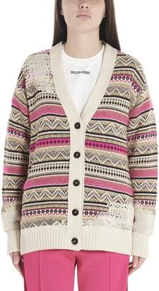 Golden Goose Jacquard Knitted Cardigan